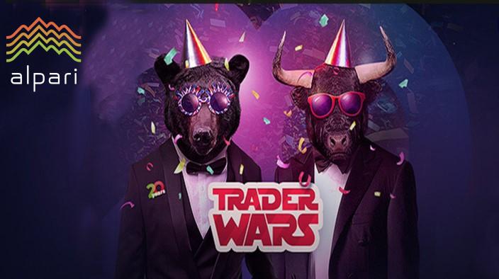 Alpari Trader Wars Contest - Prize fund  34,600 USD a year