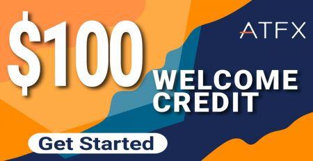 ATFX Welcome Credit Bonus -  $100