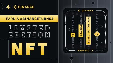 Earn a Limited Edition Binance NFT - #BinanceTurns4