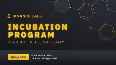 Apply Now for Season 3 of the Binance Incubation Program