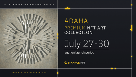 Binance NFT Drop: The ADAHA Collection Feat. Artwork From Eight Leading Contemporary Artists