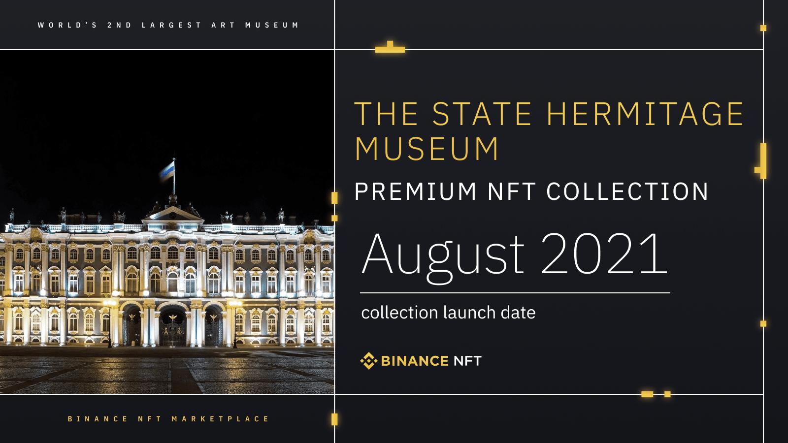 ตลาดซื้อขาย Binance NFT นำเสนองานศิลปะที่เป็นโทเค็น รวมถึง Leonardo da Vinci จากพิพิธภัณฑ์ The State Hermitage