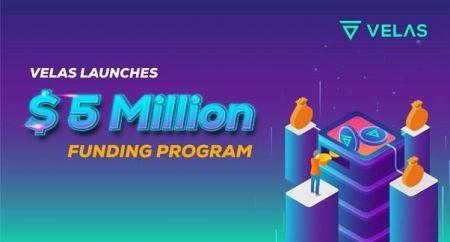 Velas Launches 5 Million USD Funding Program