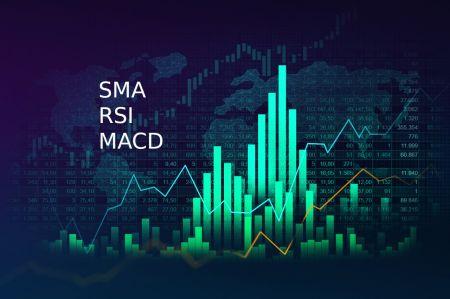 วิธีเชื่อมต่อ SMA, RSI และ MACD เพื่อกลยุทธ์การซื้อขายที่ประสบความสำเร็จใน Binomo