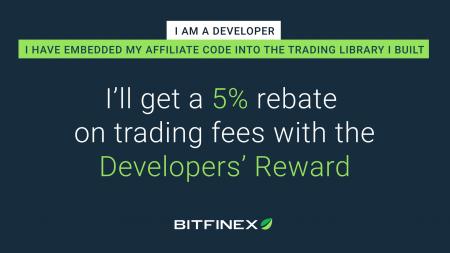 Bitfinex Developers' Reward Promotion - 5% Rebate on Trading Fee