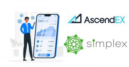 Cara Membeli Crypto dengan Simplex untuk Pembayaran Fiat di AscendEX