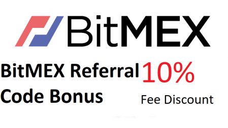 BitMEX Referral Code Bonus - 10% fee discount for 6 months