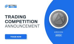 Bittrex launch of ArdCoin (ARDX) Trading Competition - Giveaway of 200,000 ARDX by ArdCoin!