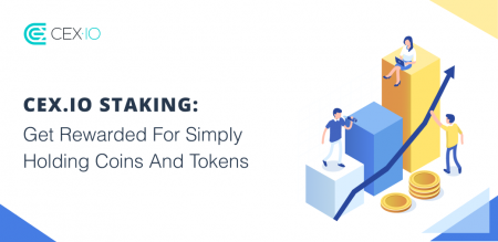 CEX.IO Staking Promotion