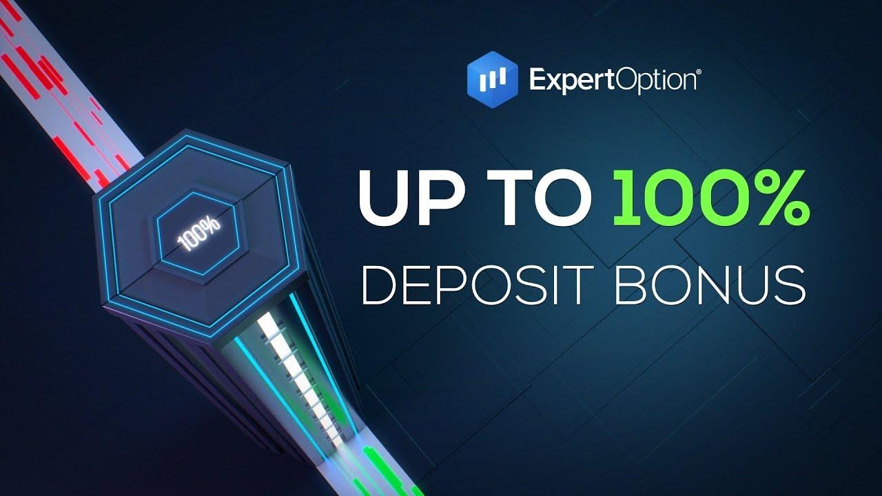 ExpertOption Welcome Deposit Bonus - 100% Bonus