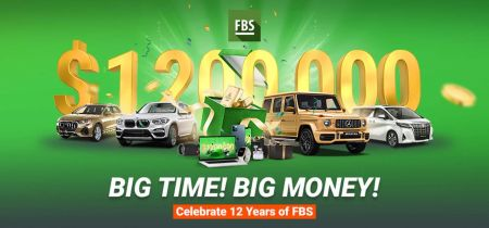 FBS 12 Years Promotion - Prize fund of $1 200 000