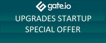 Gate.io Startup ข้อเสนอพิเศษอัปเกรด - ส่วนลดสูงสุด 20%