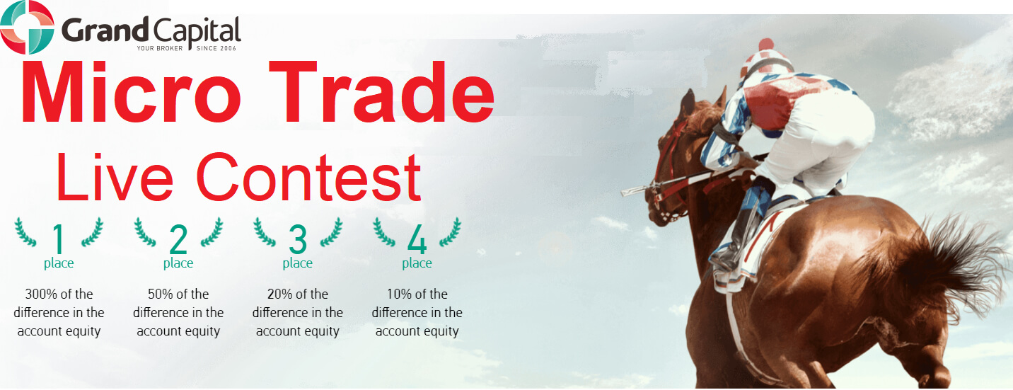 Grand Capital Micro Trade Live Contest - Up to 300% Profit