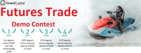 Grand Capital Futures Trade Demo Contest - $1000 no deposit bonus