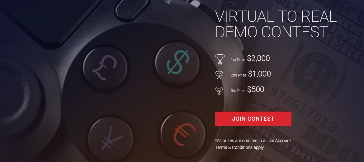 The HotForex 'Virtual to Real' Demo Contest - $3,500 Total