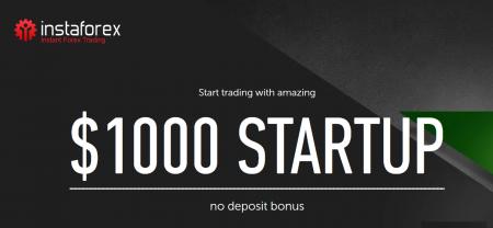 InstaForex Gain Forex STARTUP - $1000 No Deposit Bonus