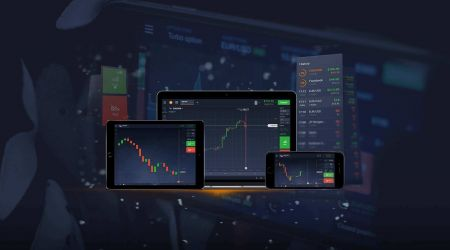How to login and download app at IQ Option