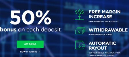 OctaFX Deposit Bonus -  Up to 50% on each Deposit
