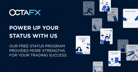 OctaFX Traders Status Program