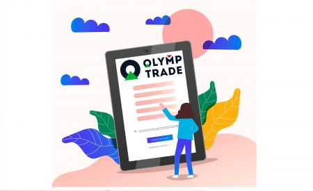 Cara Membuka Akun Perdagangan di Olymp Trade