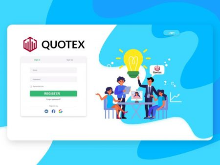 How to Register Account in Quotex