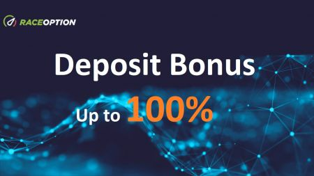 Raceoption Deposit Promotion - Up to 100% Bonus