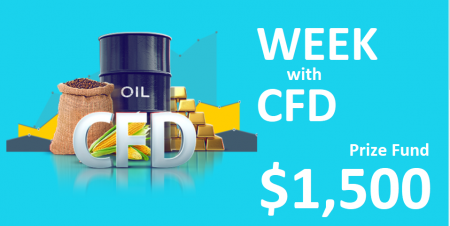 RoboForex Week with CFD - Up to $1,500