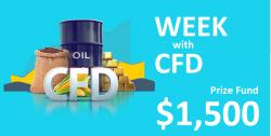 هفته RoboForex با CFD - تا 1500 دلار