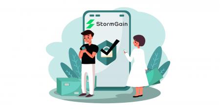 Cara Masuk dan Verifikasi Akun di StormGain
