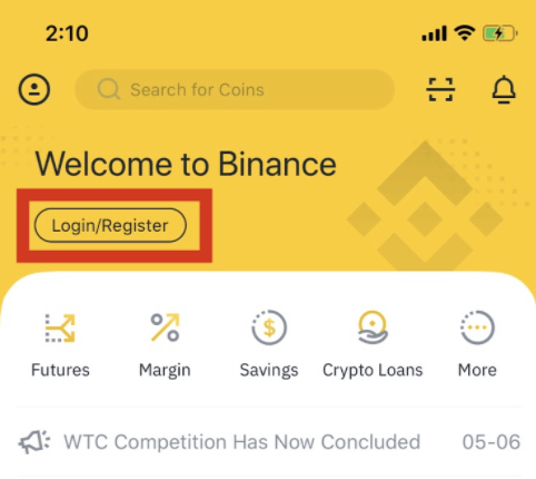 How to Open Binance Account