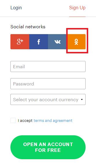Como abrir uma conta e fazer login no Binarium