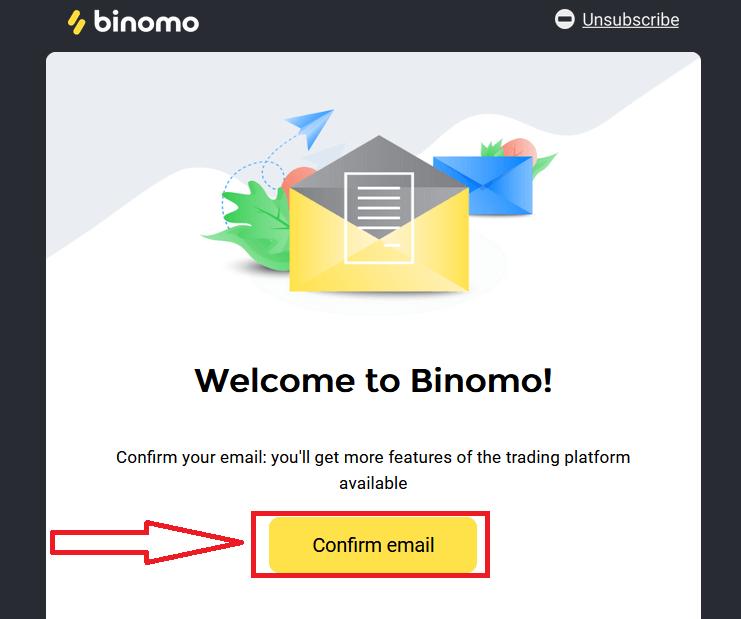 نحوه ثبت نام و تجارت در Binomo