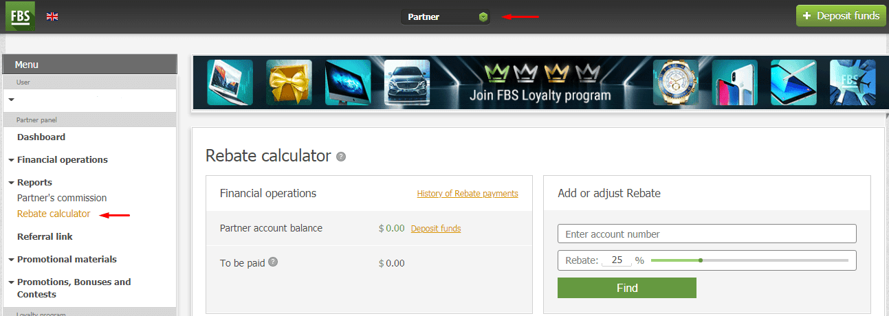 How to join FBS Affiliate Program