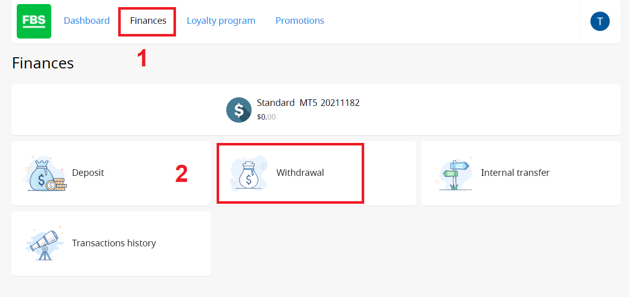 How to Withdraw and Make a Deposit Money in FBS