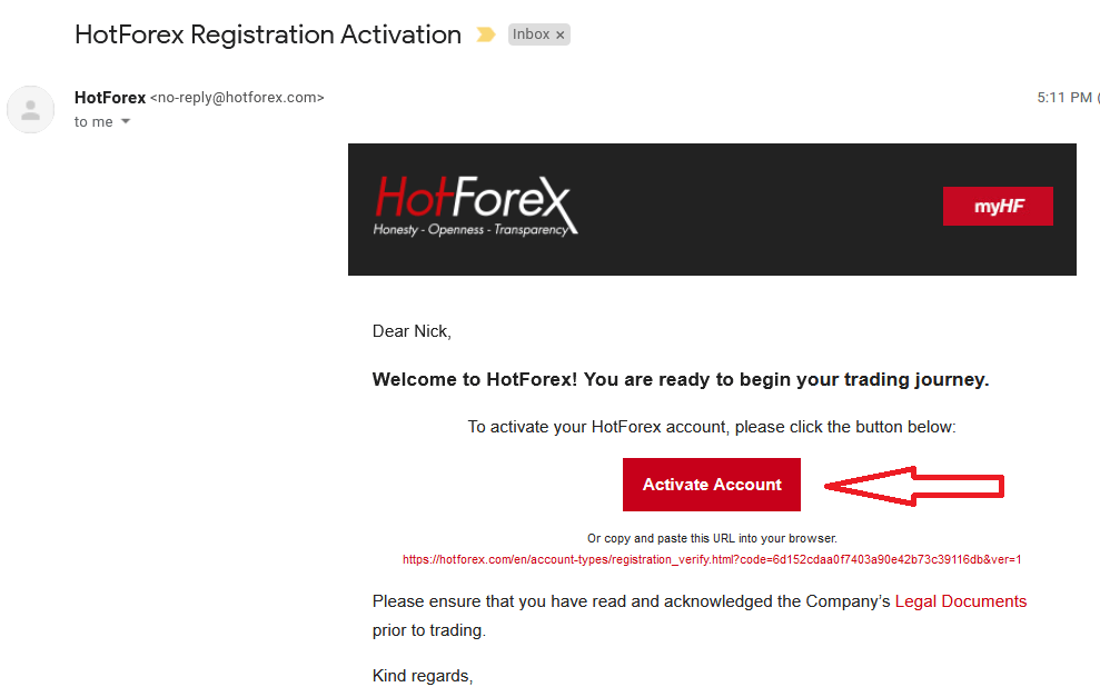How to Register and Verify Account in HotForex