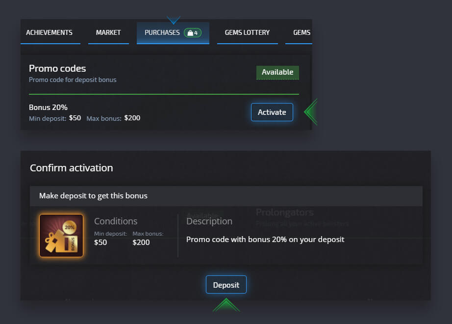 How to Purchase a Promo Code and Activate It in Pocket Option