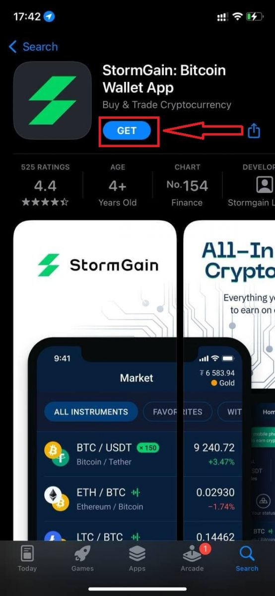 How to Open a Trading Account and Register at StormGain