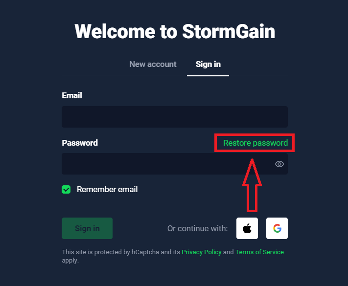 How to Register and Login Account in StormGain